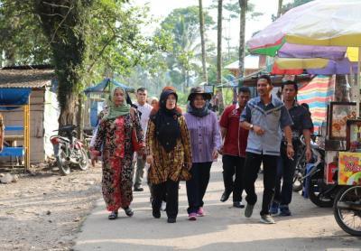 Nagari Taram dinilai dalam Lomba Gerakan Sumbar Bersih Kategori Kecamatan/Kelurahan