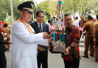 Nagari Taram terima Piagam Penghargaan Lomba Nagari/Kelurahan Berprestasi Tingkat Sumatera Barat