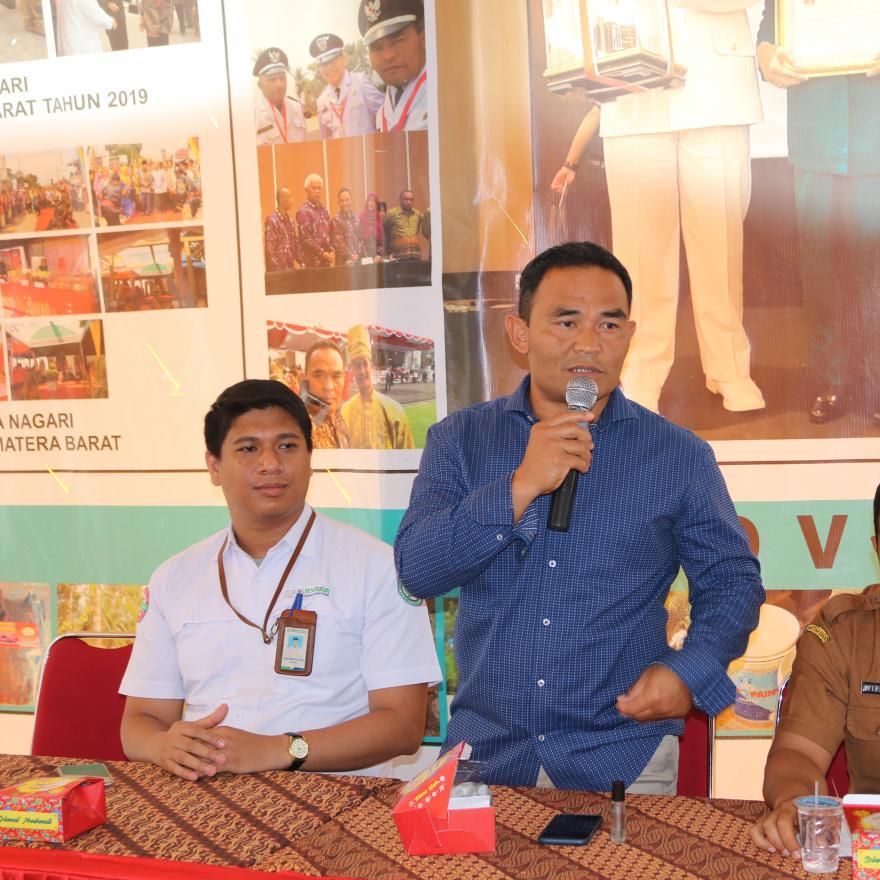 Sosialisasi dan Evaluasi BPJS bersama Relawan PELITA di Nagari Taram