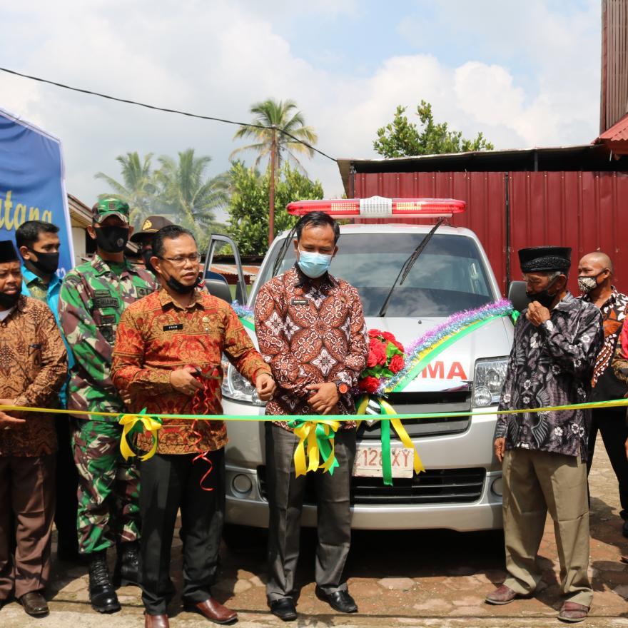 Nagari Taram Launcing Ambulance Siaga Swadaya Anak Nagari