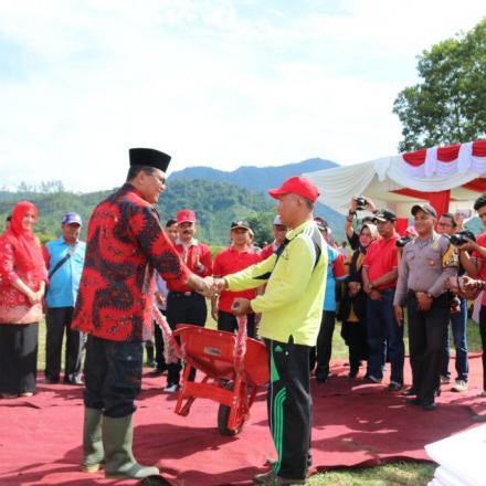 Album : Pencanangan BBGRM ke XV Tingkat Kabupaten Lima Pul